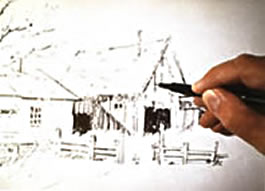 Drawing Part I: Learning Professional Techniques Instructional Video or DVD by watercolor painting artist Tony Couch. Tony Couch has 10 watercolor and art instruction videos, several books on watercolor painting and teaches watercolor workshops across the U.S. and abroad